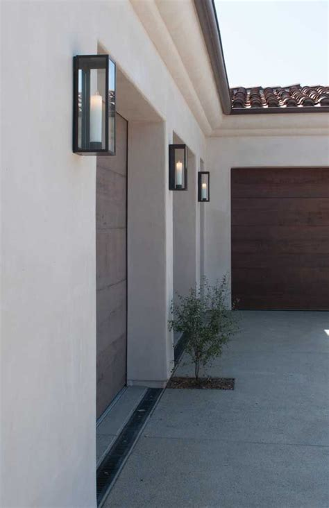 ueco inspired curated exterior garage doors