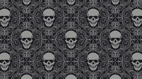 wallpaper tumblr skull skull pattern wallpaper hd wallpapers
