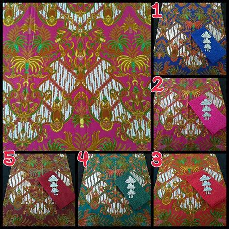 Set Batik Semi Tulis Dan Embos 02 kain batik pekalongan batik soft halus kombinasi embos ka2 55 batik pekalongan by jesko batik