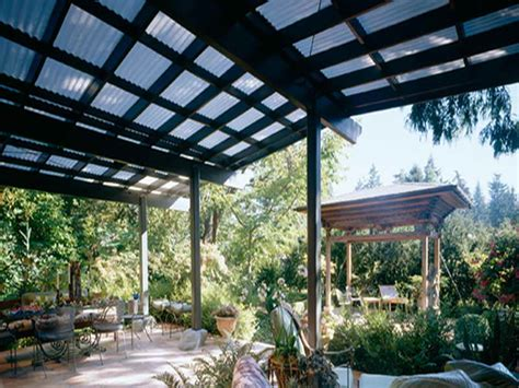 patio corrugated fiberglass roofing roof fence futons