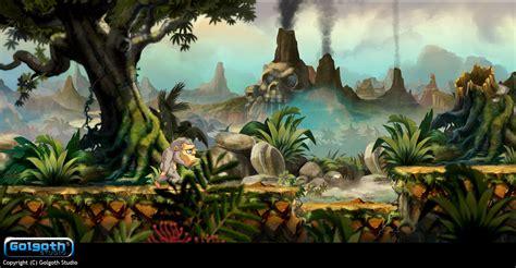 design 2d game graphics toki remake level 1 design by golgoth21 on deviantart
