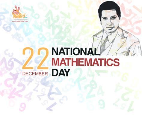 national mathematics day  dec  rabbitsabc
