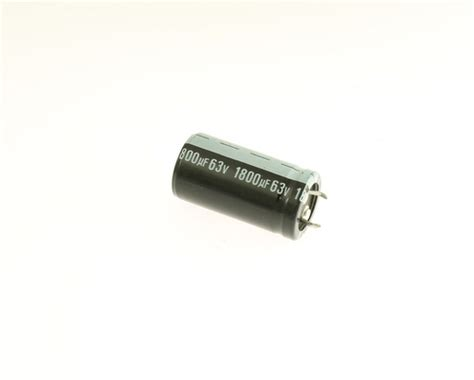 jamicon capacitor for audio 12x 1800uf 63v radial snap in mount electrolytic aluminum capacitor 105c 63vdc