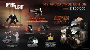 Gaming Bedroom dying light my apocalypse edition costs 163 250 000 in the