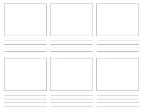 Storyboard Panels Template by Storyboard Gif Images
