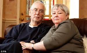 Terminally ill david lloyd and his wife annette edwards are preparing