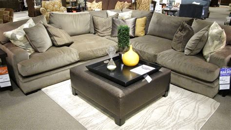 oversized sectional couch fontaine sectional sofa so comfy with 27 quot deep oversized