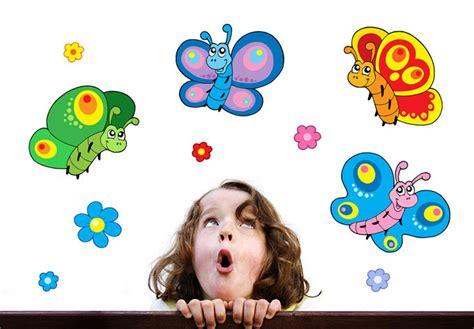 Butterflies Home Decor Kids Butterfly Set Wall Stcikers Cute Nursery Decor