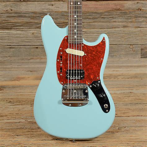 mustang guitar fender kurt cobain mustang electric guitar reverb