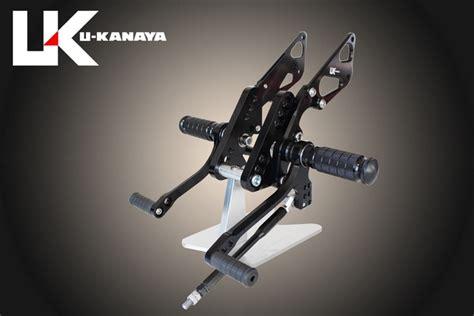 Kanaya Set u kanaya 6 position rear sets for zrx1100 zrx1200 zrx1200daeg bsk001bk