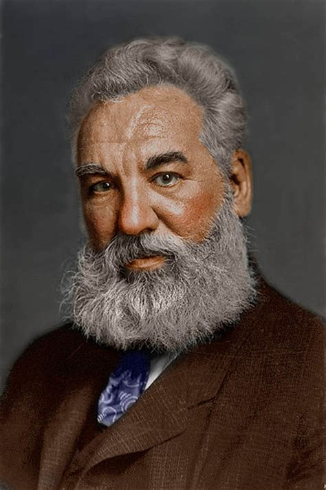 facts about alexander graham bell s telephone file alexander graham bell in colors jpg wikipedia