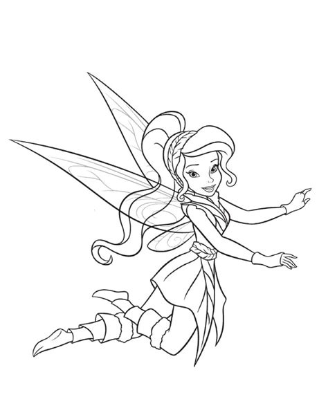 tinkerbell friends coloring pages az coloring pages