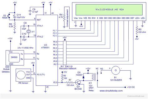 hirsiz alarm pir elektronik hobi