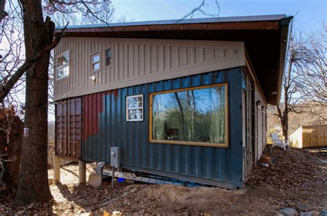 family home in a shipping container can you make it work diy family shipping container home container home plans