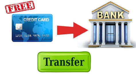how do banks make money on credit cards transfer money from credit card to bank account free