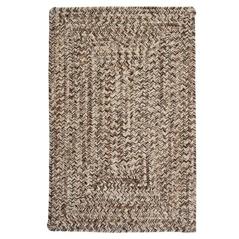 brown accent rug home decorators collection wesley weathered brown 4 ft x