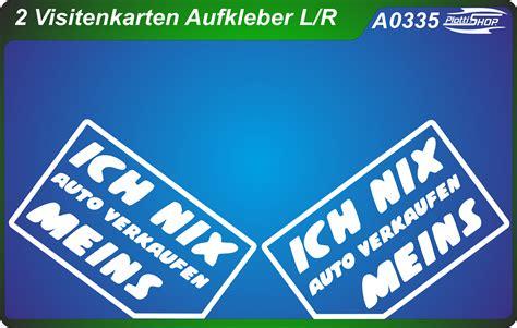 Scheiben Aufkleber Nix Karte by Nix Verkaufen Sticker Jdm Tuning Car Sticker Auto