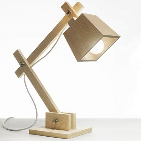 Cool Kitchen Lighting Ideas by Wooden Desk Lamp Plans
