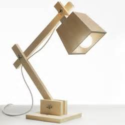 wooden desk lamp plans