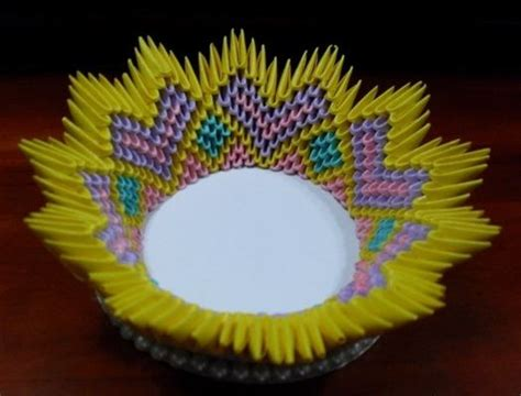 3d Origami Bowl - 49 curated 3d origami ideas by ani3591 quilling