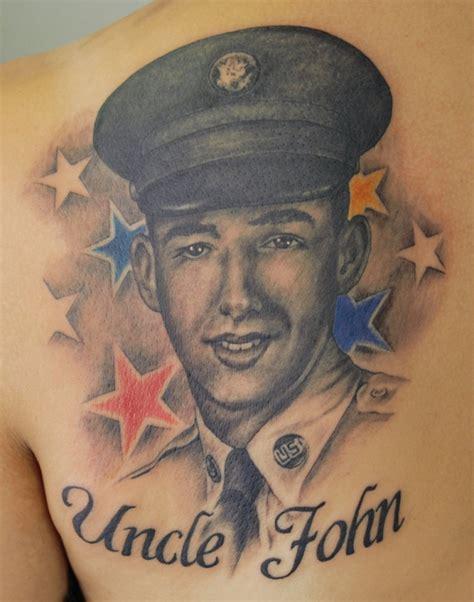uncle tattoo designs portrait images designs