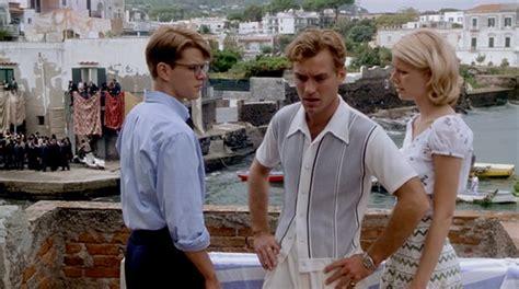 the talented mr ripley the talented mr ripley movie style tom ripley dickie greenleaf in 1950s men s styles