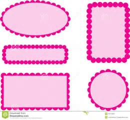 a borda da vieira molda o rosa ilustra 231 227 o do vetor