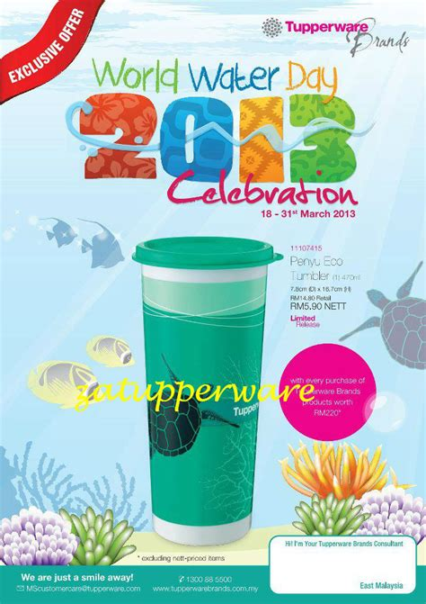 Tupperware Celebration Set za tupperware brands malaysia world water day 2013 celebration 18 31stmarch 2013