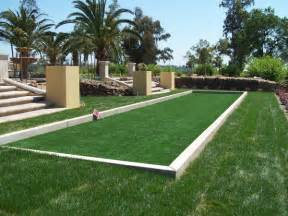artificial turf bocce ball courts in the san francisco bay area