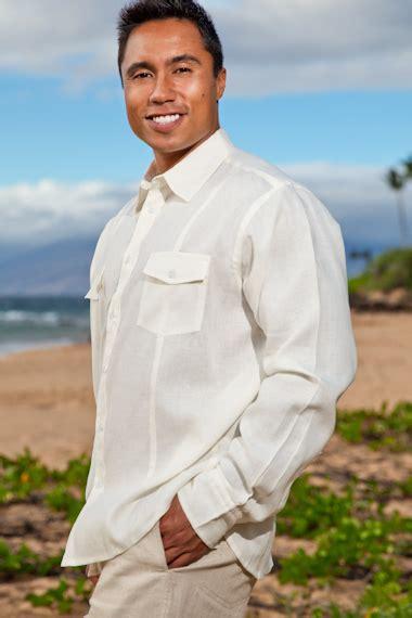 Mens Linen Wedding Attire Uk by Mens Linen Traveler Shirt Sleeve