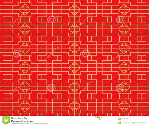 line pattern diamond golden seamless vintage chinese window tracery square
