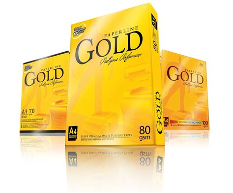 Paperline Gold F4 by Supplier Stationery Alat Tulis Kantor Atk Paperline Gold