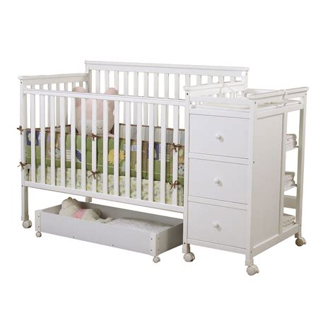Kmart Crib And Changing Table by Sweet Dreams Hayden 4 In 1 Crib Changer Combo In White