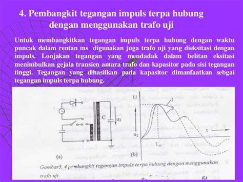 Saklar Impuls pembangkit dan pengukuran tegangan impuls
