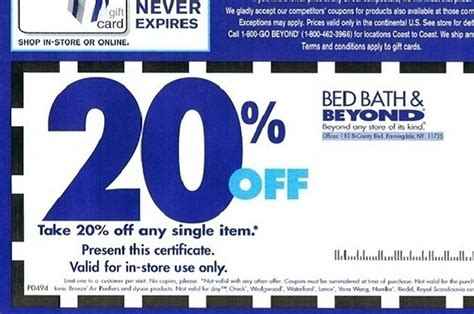 bed bath and beyond 20 coupon bed bath and beyond sales events printable coupons online