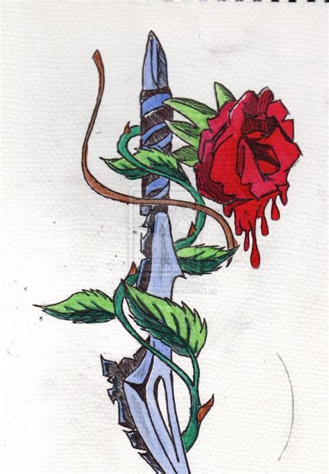 red rose tattoo meaning 42 best and dagger meaning images on