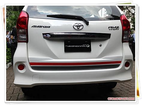 Bemper Avanza Veloz 2015 harga dan spesifikasi mobil toyota avanza veloz luxury