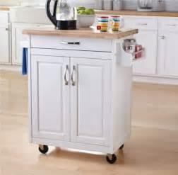 Mobile Kitchen Island Units 206 lot de cuisine sur roulettes de hometrends walmart ca