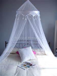 Mosquito Bed Canopy by White Crown Mosquito Net Bed Canopy Cot Sbed Dbed Qn Ebay
