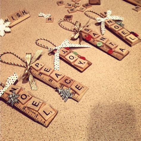 scrabble ornaments scrabble and ornaments on pinterest