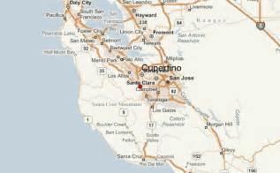 map of cupertino california cupertino location guide