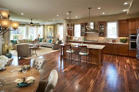 open concept kitchen idea in farmhouse open concept kitchen designs family room