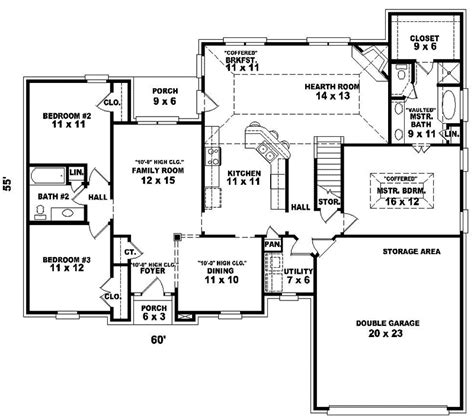 acorn house designs acorn hollow ranch home plan 087d 0196 house plans and more
