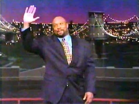 Sanjaya Does The Letterman Top Ten by Kirby Puckett Does Top Ten List On Letterman Late Show