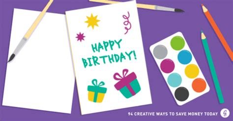 save time and money with these creative birthday party how to save money 94 creative ways to save money today
