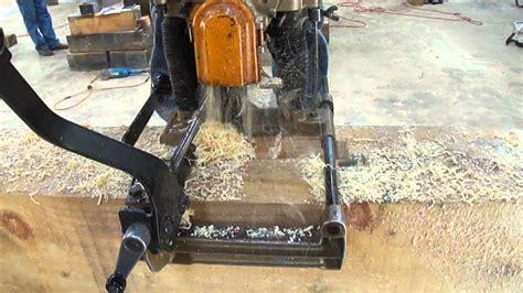 Makita 7104l 12 Chain Mortiser timber frame chain mortiser