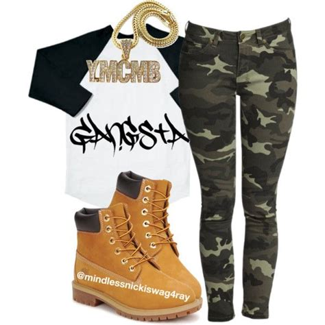 camo gangsta created  mindlessnickiswagray