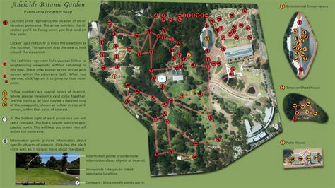 Botanic Garden Map Adelaide Botanic Gardens A Panoramic Tour
