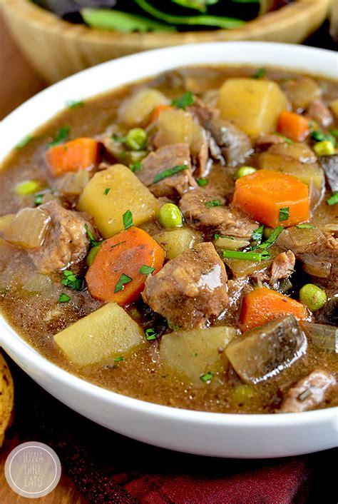 crock pot beef stew iowa girl eats