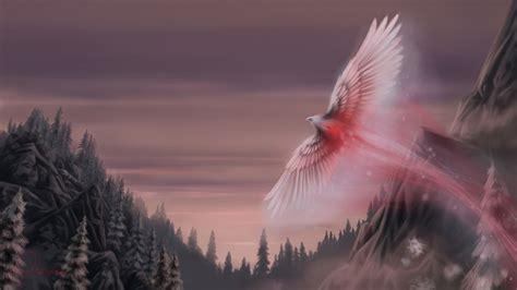 snow phoenix mystery wallpaper